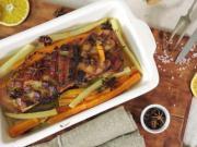 Bôčik s medom a pomarančom - recept