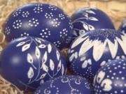 Metalické velikonoční vajíčka