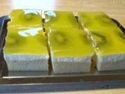 Kiwi koláč - recept na kiwi koláč