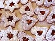 Linecké koláčky - recept na linecké koláčky