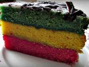 Punčová torta - recept na punčovú tortu - punčový zákusok - punčák