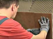 Lepenie obkladov a dlažby - pokládka a špárovanie obkladov a dlažby