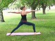 Jemné protažení s jógou