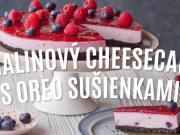 Malinový cheesecake s Oreo sušienkami- recept na malinovú tortu