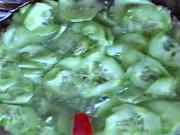 Uhorkový šalát - recept na uhorkový šalát