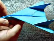 Papierové lietadlo Super Jet - ako si poskladať lietadlo z papiera