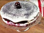 Višňovo-maková torta - recept na višňovo-makovú tortu