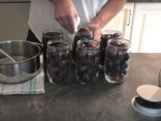 Švestkový kompot - recept na zavařené švestky