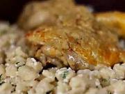 Kurací perkelt - recept na kurací perkelt s haluškami a tvarohom