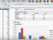 Excel - kontingenčná tabuľka a graf