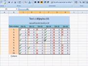 Excel - podmienené formátovanie - základné funkcie