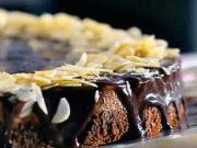 Čokoládově ořechová dort - recept