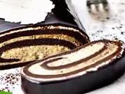 Kávová roláda -recept na kávovú roládu