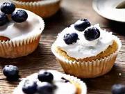 Čučoriedkové muffiny - recept na kokosovo-ovocné  muffiny