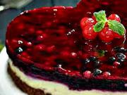 Tvarohovo-čokoládová torta - recept na tvarohovo-čokoládový zákusok s ovocím