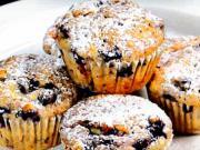 Borůvkové muffiny - recept na muffiny