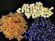 Korálkové šperky - náhrdelník a náramok z korálok - korálkovanie