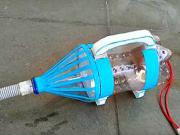 Mini vysávač z plastovej fľaše - DIY