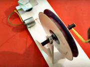 Mini generátor - ako si vyrobiť malý generátor doma - DIY