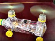 Mini helikoptéra z plastovej fľaše - DIY
