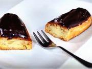 Vanilkové rožky - recept na vanilkové rožky plnené krémom