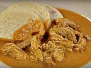 Kura na paprike - recept na trhané kurča na paprike - kuraci paprikáš