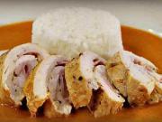 Kuracia roláda - recept na kuraciu roládu v jemnej paprikovej omáčke