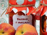 Broskyne zavarené v mikrovlnke - recept na zavárané broskyne