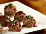 Masové kuličky plněné mozzarellkami - recept