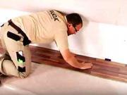 Pokládka plávajucej podlahy - ako položiť  laminátovú podlahu