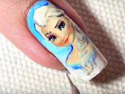 Frozen gelové nechty
