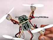 Mini dron - ako si vyrobiť quadcopter doma - DIY