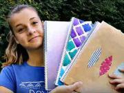 Zošity do školy - ako si vyrobiť originálne školské zošity