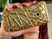 Puzdro na telefón - ako si vyrobiť obal na mobil z tavného lepidla