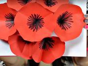 3D kvetinový pozdrav - ako si vyrobiť pozdrav k narodeninám