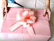 Balení dárků - jak zabalit hranatý dárek