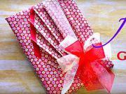 Balenie darčekov - Japonský štýl balenia darčekov
