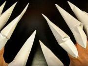 Pazury z papiera - ako si vyrobiť papierové pazúre