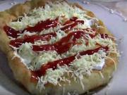 Smotanový langoš - recept na domáce langoše
