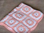 Háčkovaná deka pre bábätko