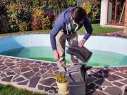 Zazimovanie bazéna - ako zazimovať bazén - príprava na zimu