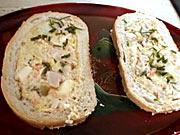 Plnený sendvič - recept na plnený sendvič Veka