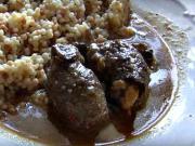 Hovädzie na hubách - recept na hovädziu roštenku na hubách