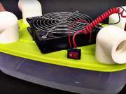 Jednoduchá klimatizácia - ako si vyrobiť mini izbovú klimatizáciu -DIY