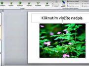 Vloženie vlastnej animácie v Microsoft PowerPoint - ako vložiť animáciu do prezentácie