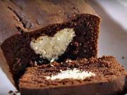 Čokochlebíček so srdiečkom - recept na čokoládový koláč