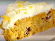 Mrkvová torta s mascarpone - recept na mrkvový koláč