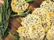 Sýrové chipsy - recept na rychle sýrové chipsy