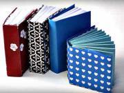 Mini zápisník - ako si vyrobiť origami zápisník