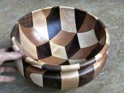 Miska z dřeva - jak vyrobit dřevěnou misku